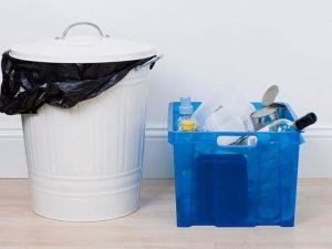 Чистка мусорного ведра
