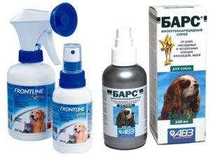 Спрей, средство для щенков от блох и клещей фото