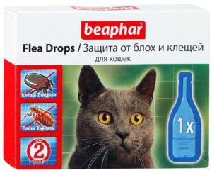 Беафар – капли от блох для кошек