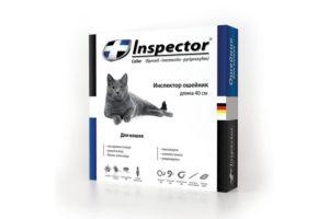 Инспектор средство для кошек от блох и клещей